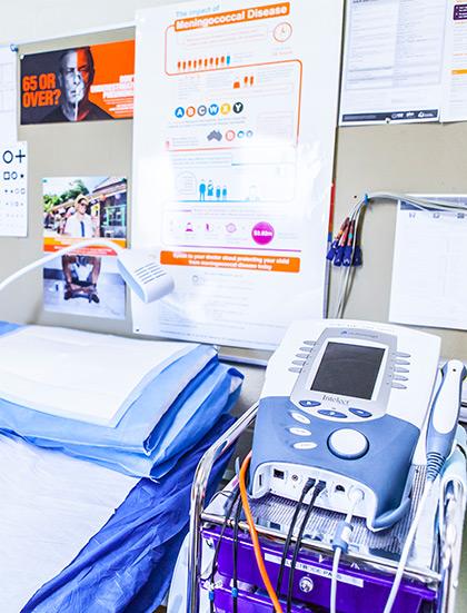 evandale treatment room - Evandale Doctors Surgery