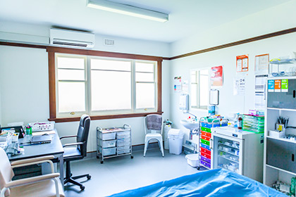 nurses room - Beaconsfield Doctors Surgery